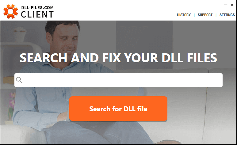 Fix dll errors with DLL-Files-com Client